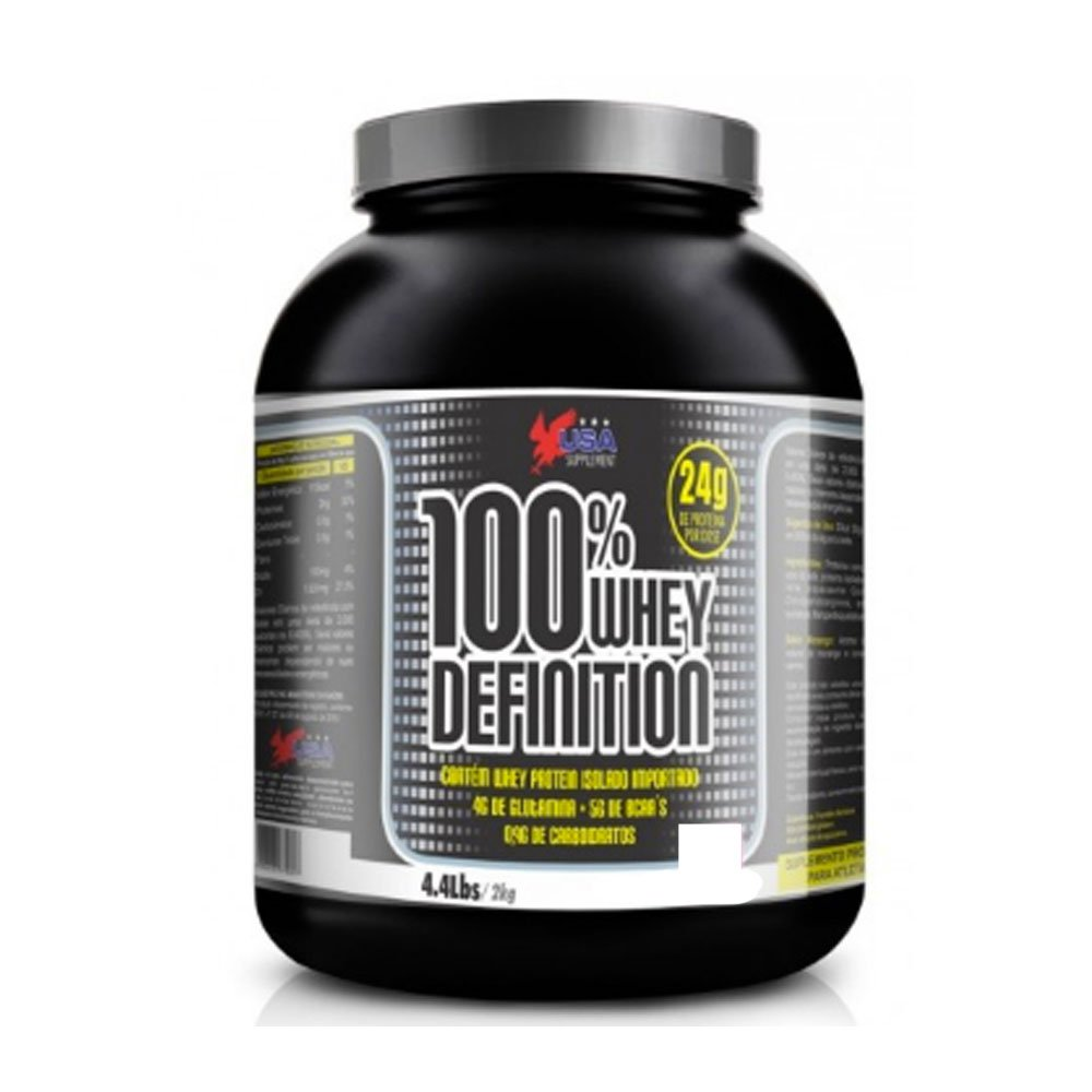 100% Whey Definition 2Kg - Usa Supplement   Netshoes