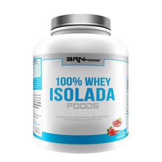 100% WHEY ISOLADA - BRN FOODS 2KG
