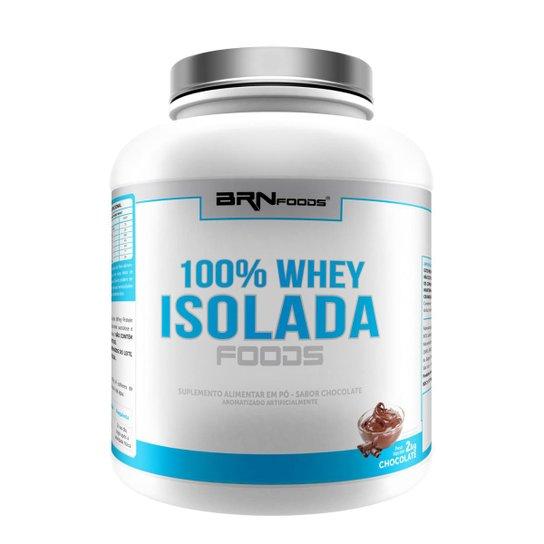 100% WHEY ISOLADA - BRN FOODS 2KG -