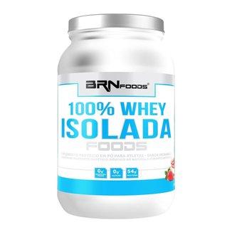 100% WHEY ISOLADA - BRN FOODS 900G