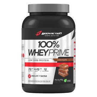 100% WHEY PRIME 900G - BODY ACTION (CHOCOLATE)