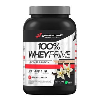 100% Whey Prime 900g Fórmula Crea-atp / T-biotine Bodyaction