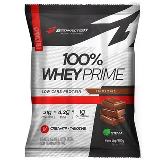 100% WHEY PRIME REFIL 900G - BODY ACTION (CHOCOLATE)