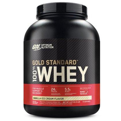 100% Whey Protein Gold Standard Optimum Nutrition - 5Lbs/2.270g
