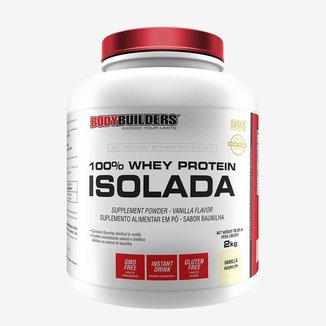 100% Whey Protein Isolada Bodybuilders Baunilha 2kg