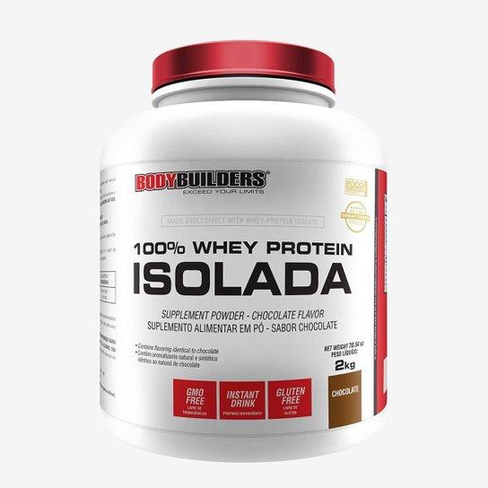 100% Whey Protein Isolada Bodybuilders Baunilha 2kg -
