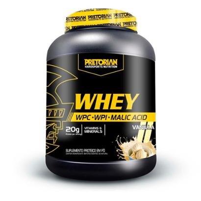 100% Whey Protein Isolado + WPC 900g - Pretorian
