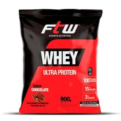 100% Whey Protein Nutri Ultra Protein 900g- FTW