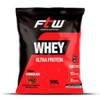100% Whey Protein Nutri Ultra Protein 900g  - FTW