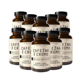 10X Cafeina + Cromo (120 Tabletes) - Generic Labs