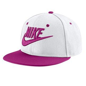 4c4cbd49a9989 Boné Infantil Nike Aba Reta Futura Truel