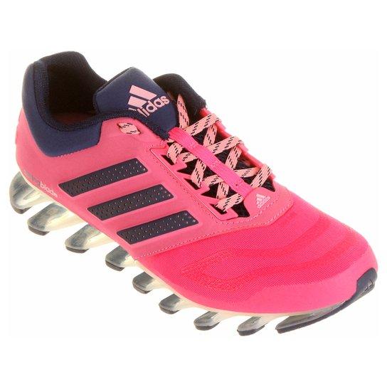 new style c40b9 5cf64 Tênis Adidas Springblade Drive Feminino - Pink+Marinho