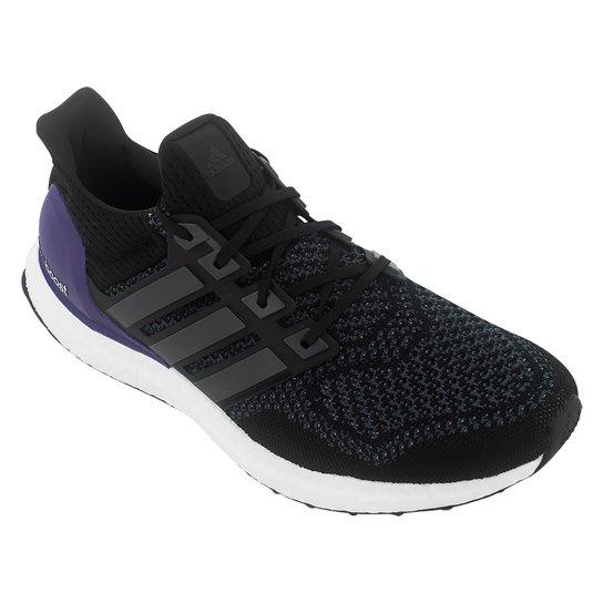 Tenis Running Adidas Ultra Boost - Preto+Azul Turquesa cf5decc58c26c