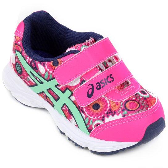 6f63e0136b9 Tênis Infantil Asics Sugar Baby 2 Ts - Pink e Marinho - Compre Agora ...