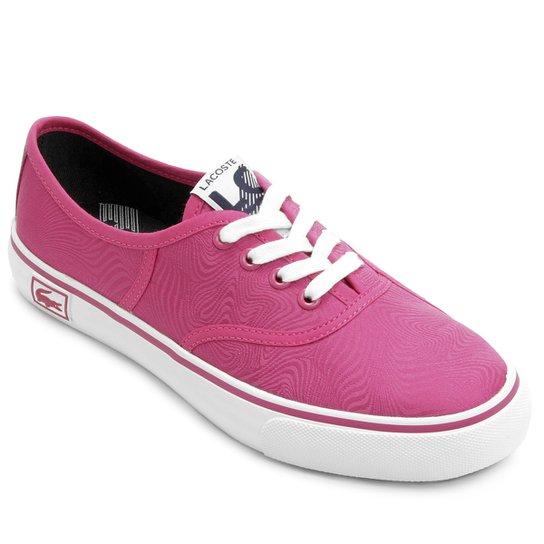 Tênis Lacoste Rene Vaultstar Pn - Rosa Escuro - Compre Agora   Netshoes 6511014987