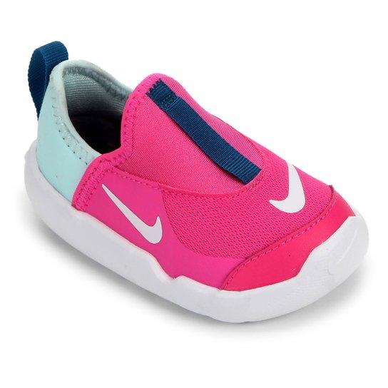 fb9f3c264fe04 Tênis Infantil Nike Lil Swoosh Feminino - Pink e Azul | Netshoes