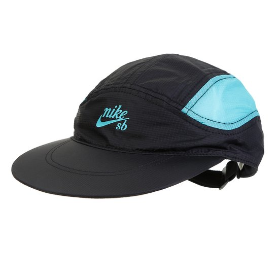 44814405b1 Boné Nike TWLD Cap - Preto+Azul Turquesa