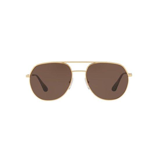 a55300333 Óculos de Sol Prada Masculino - Ouro | Netshoes