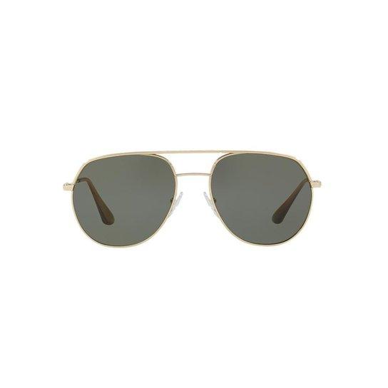 f99449a8b Óculos de Sol Prada PR 55US Masculino - Ouro | Netshoes