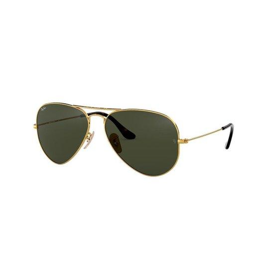 5190f7426 Óculos de Sol Ray-Ban RB3025 Coleção Havana - Aviator - Ouro | Netshoes