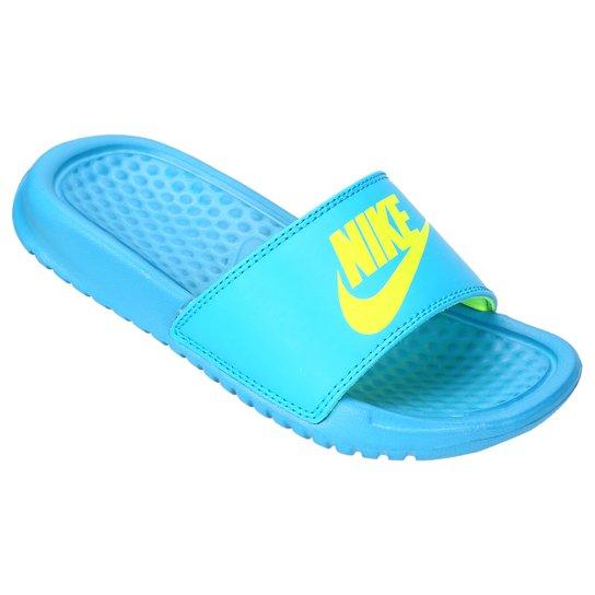 42e21a2767c Sandália Nike Benassi JDI GS PS Infantil - Compre Agora