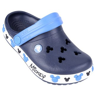 be624ac9aa Sandália Crocs Infantil Crocband Mickey IV Clog