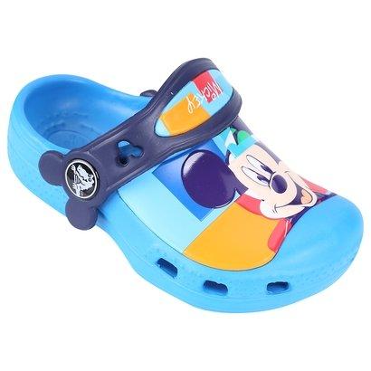 Sandália Crocs CC Mickey Colorblock Clog Infantil