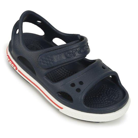 f211f4052e4 Sandália Crocs Infantil Crocband II PS - Marinho - Compre Agora ...
