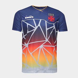 Camisa Vasco Treino 2018 Atleta Diadora Masculina 8ad20091f074b