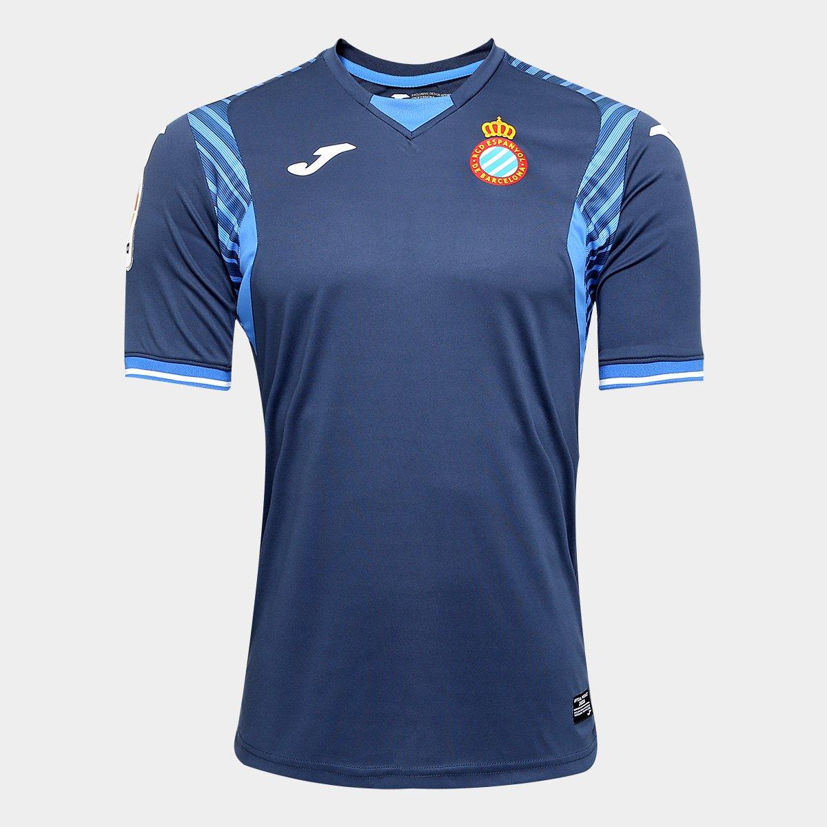 Camisa Espanyol Away 17 18 s n°- Torcedor Joma Masculina c74bee06ccf05