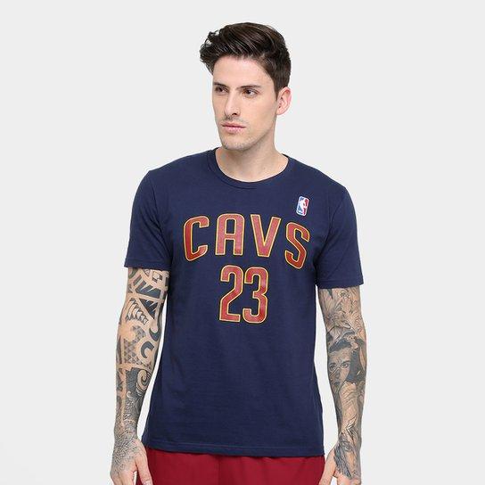 dad8b4c0e Camiseta Cleveland Cavaliers NBA James 23 Masculina - Compre Agora ...