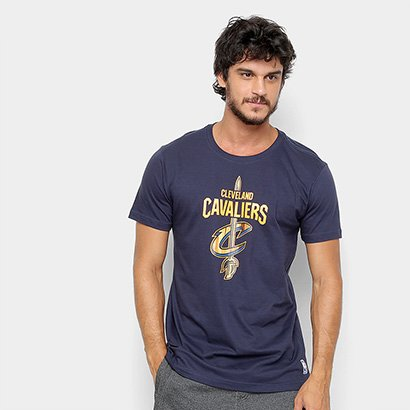 Camiseta NBA Cleveland Cavaliers Wool Court Masculina