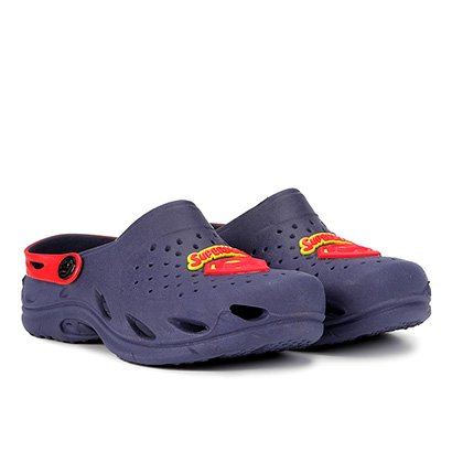 Sandália Infantil Plugt Ventor Superman Masculina