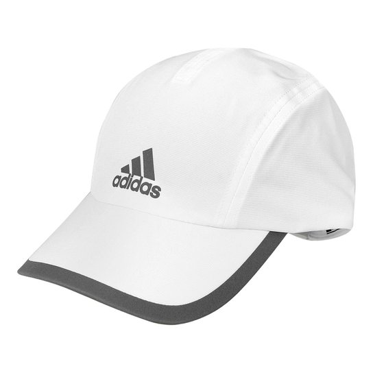 Boné Adidas ClimaCool Aba Curva - Branco e prata - Compre Agora ... 6797ed9a434