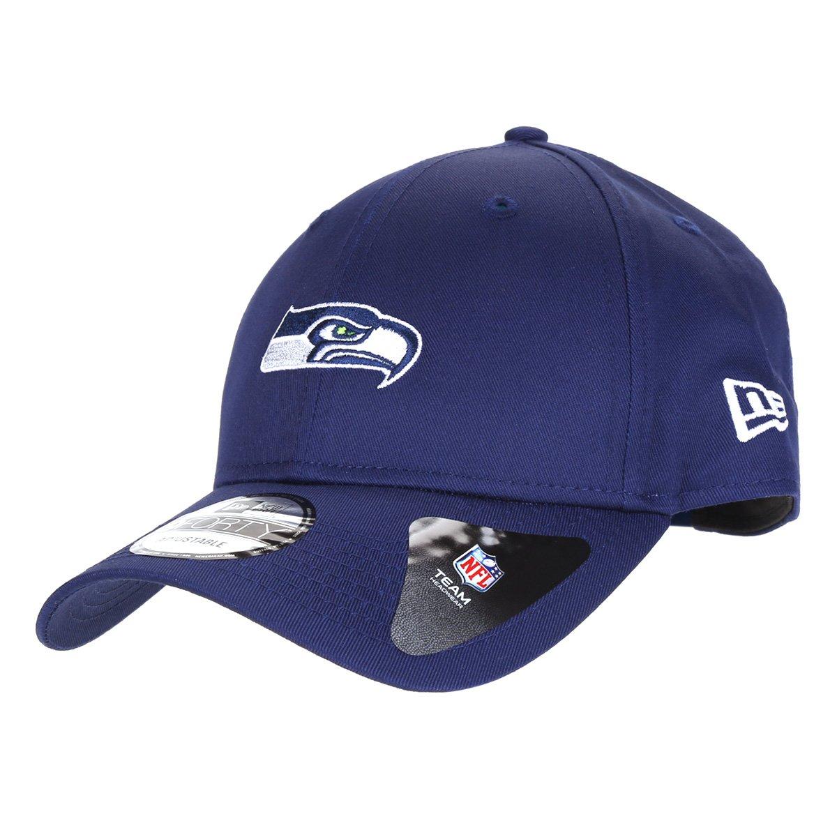 Boné NFL Seattle Seahawks New Era Aba Curva Snapback 940