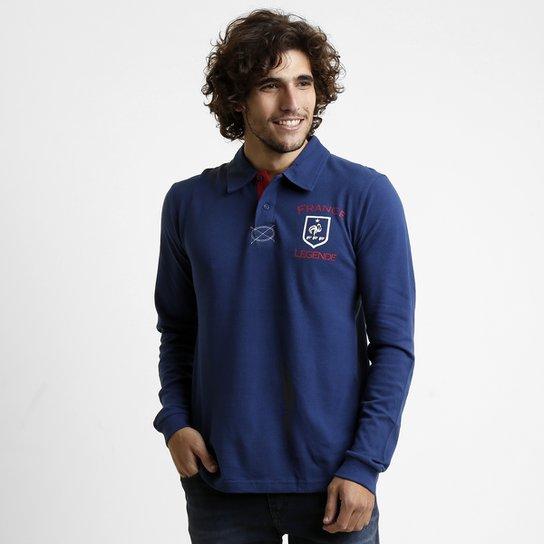 Camisa Polo França M L - Compre Agora   Netshoes f4f1edc36b