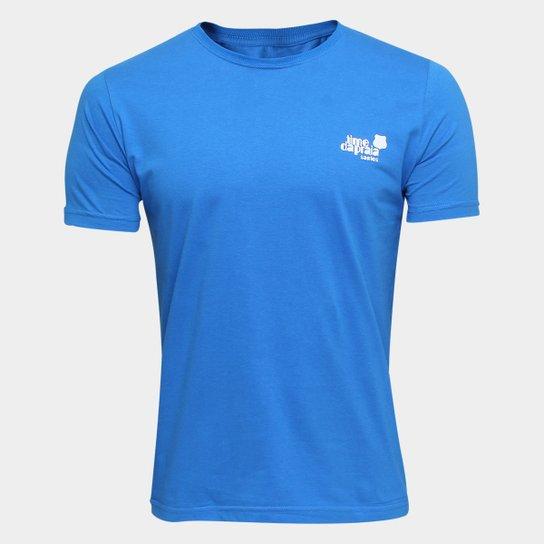 0c9748352b Camiseta Santos Futebol Clube Estampada timedapraia Masculina - Azul