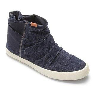 fc1b22c0d Bota Cano Curto Keds Topkick Jeans Feminina