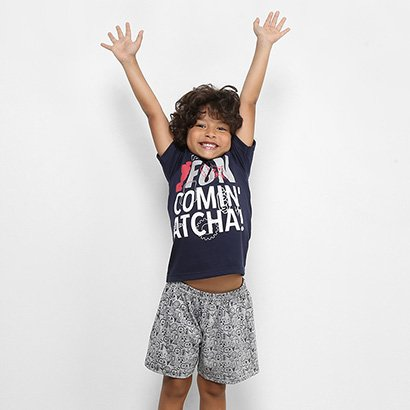 Pijama Infantil Curto Disney Masculino