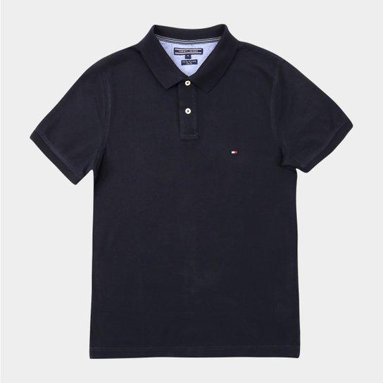 Camisa Polo Tommy Hilfiger Piquet Slim Fit Vira Gola - Compre Agora ... c500792c07bb6