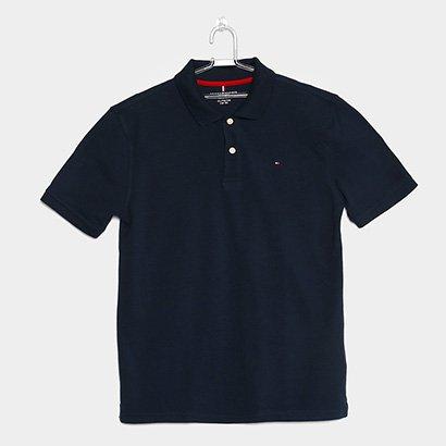 Camisa Polo Infantil Tommy Hilfiger Knit New Masculina