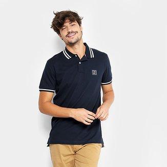 10965c5503 Camisa Polo Tommy Hilfiger Patch Friso Masculina
