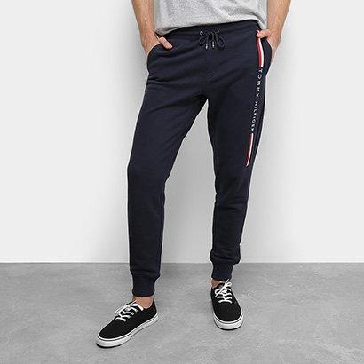 Calça Tommy Hilfiger Jogger Basic Branded Sweatpants Masculina