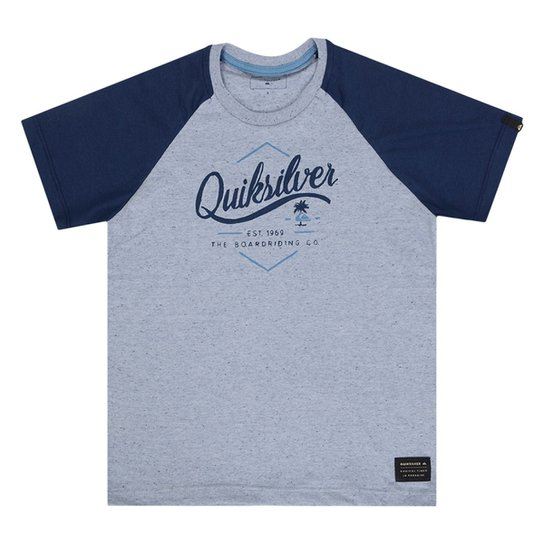 a60d362dae7 Camiseta Quiksilver Infantil College Kids - Compre Agora