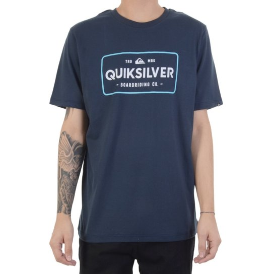 Camiseta Quiksilver Detention Thermal Masculina - Compre Agora ... 8a01c2291dd