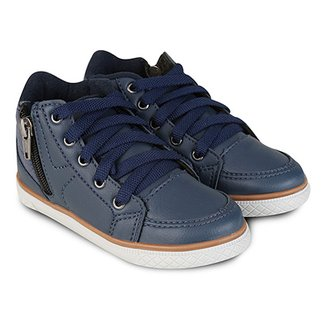 Compre Tenis Cano Alto Infantil Masculino Online   Netshoes 16f902776c