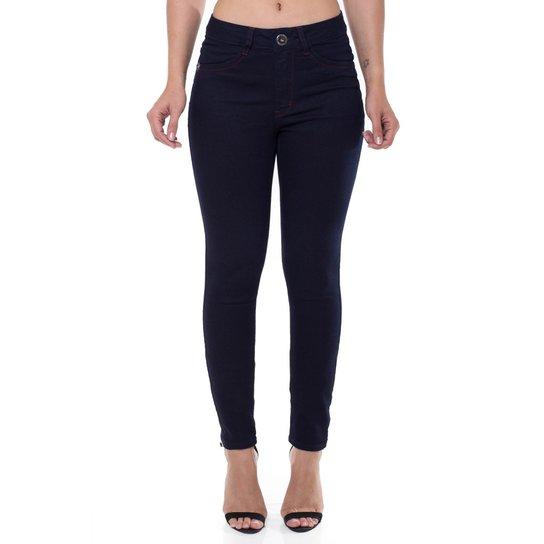 fd004321d Calça Jeans Cigarrete Mid Rise Skinny Denúncia Feminina | Netshoes