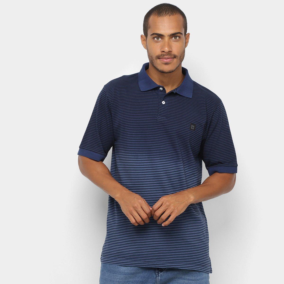 Camisa Polo Hang Loose Listrada Masculina