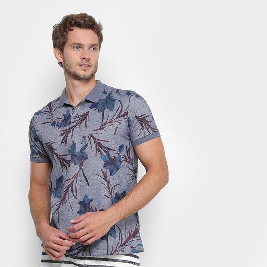 Camisa Polo Reserva Piquet Floral Masculina - Compre Agora  678236374b15f