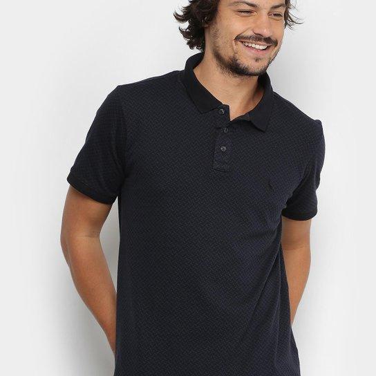 08d5be74f6 Camisa Polo Reserva Piquet Jaquard Gola Contraste Masculina - Compre ...